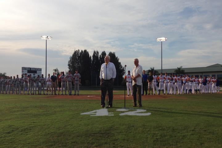 Vero Beach S Holman Stadium Hosts Tribute To Pioneer Player Person